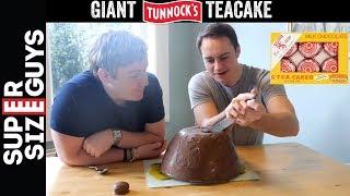 Giant Chocolate Teacake Recipe
