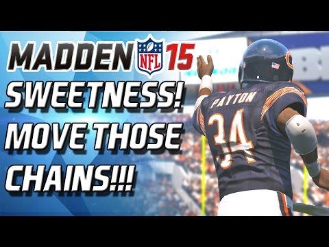Madden 15 Ultimate Team - SWEETNESS DEBUT! WALTER PAYTON WON