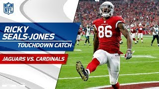 Williams' Huge Punt Return Sets Up Seals-Jones' TD Catch-'n-Run! | Jaguars vs. Cardinals | NFL Wk 12