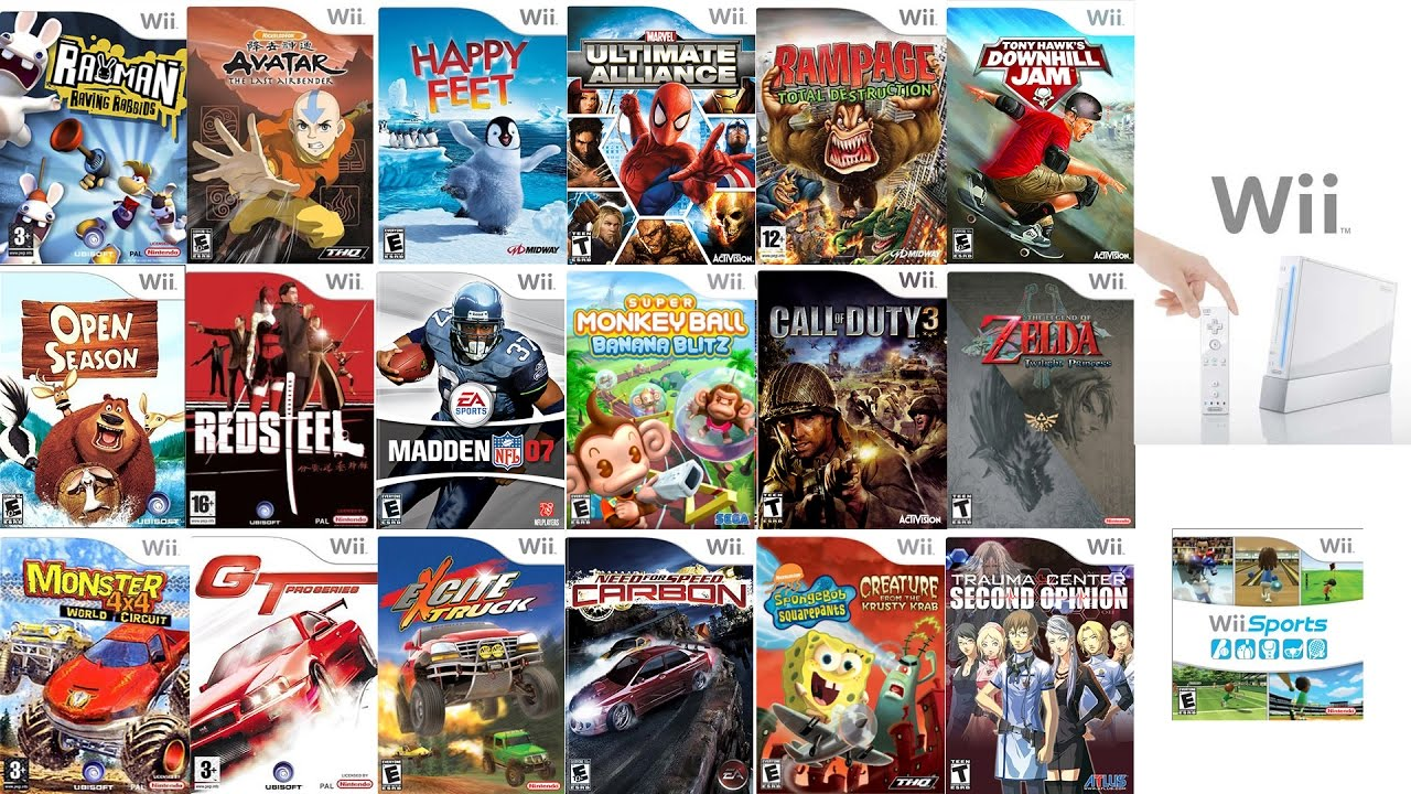 Wii Games For Sale | Free Shipping | 90 Day Guarantee