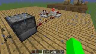 minecraft tuto n°4 piège mouahahahaha samti81