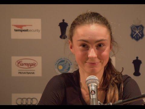 Interview with Elena Karner, quarterfinalist at Drottningens Pris 2017