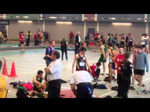George diCenzo 600m McGill Team Challenge