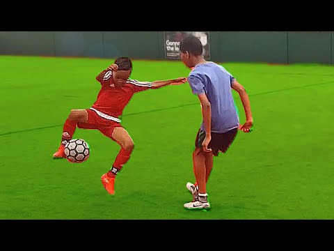 7 Year Old Kid Shows How To Destroy a Defender - Skills for Kids