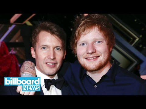 Ed Sheeran Announces James Blunt As Opening Act For North American Tour | Billboard News
