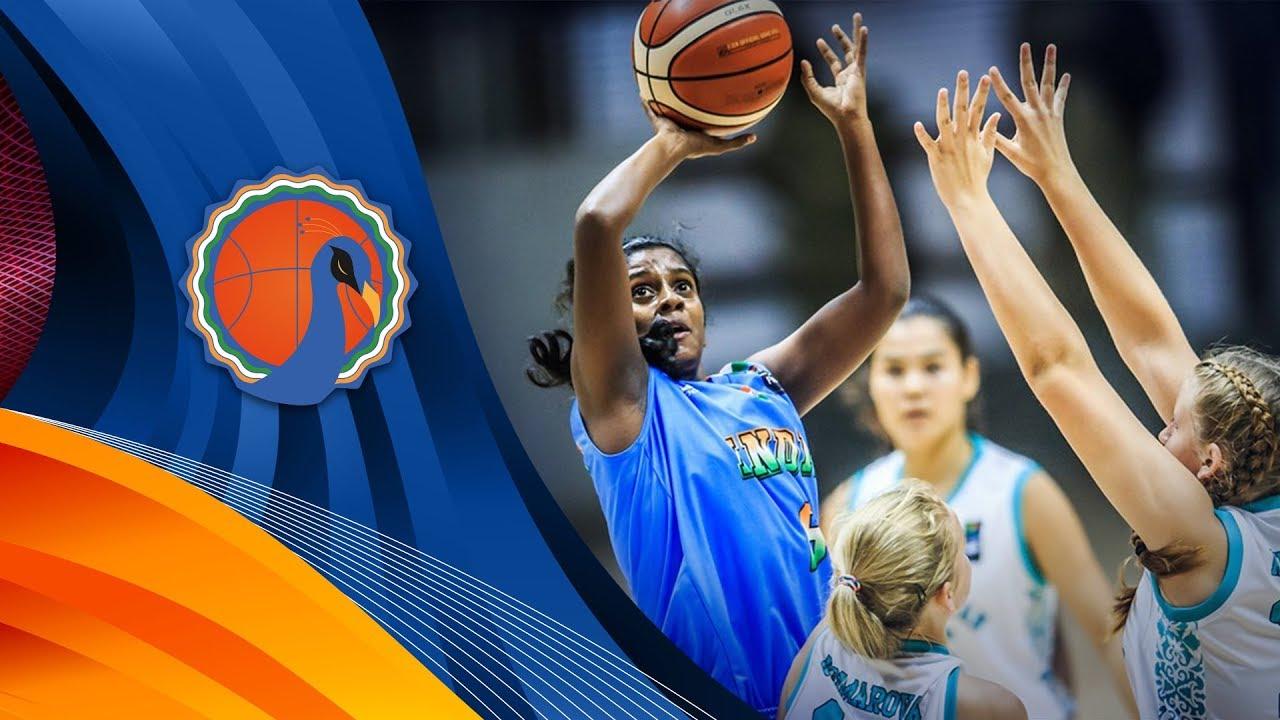 LIVE🔴 - Kazakhstan v India - FIBA U16 Women's Asian Championship 2017  - DIV B