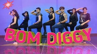 Bom diggy - zack knight x jasmin walia | dance choreography | dance floor studio
