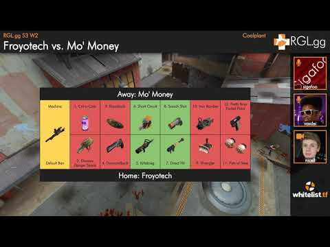 7v7 Pick/Ban Prolander - Week 2 - Froyotech vs Mo' Money - Coalplant - Season 3