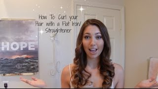 How to: Curl your Hair With a Flat Iron / Straightener Thumbnail