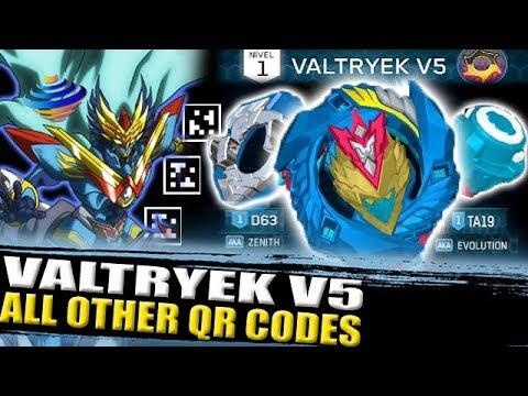 Valtryek V5 Gameplay All Valtryek Qr Codes Zankye Collab