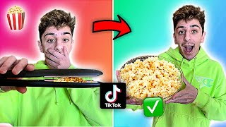 Download We Tested VIRAL TikTok Life Hacks... **MIND BLOWING** (Part 3) Mp3 and Videos