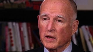Calif. Gov. Brown says pensions challenge gives him reason to run