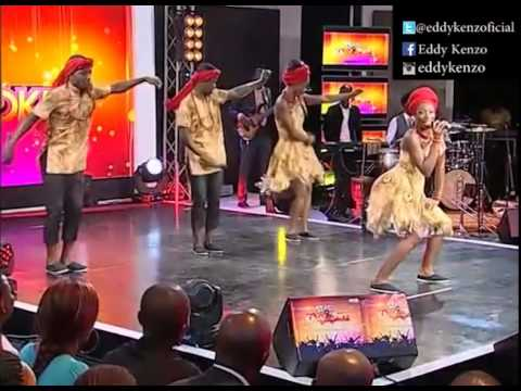 Elodie Amondji performs sitya Loss of Eddy Kenzo @Star Karaoké Abidjan Côte D'Ivoire
