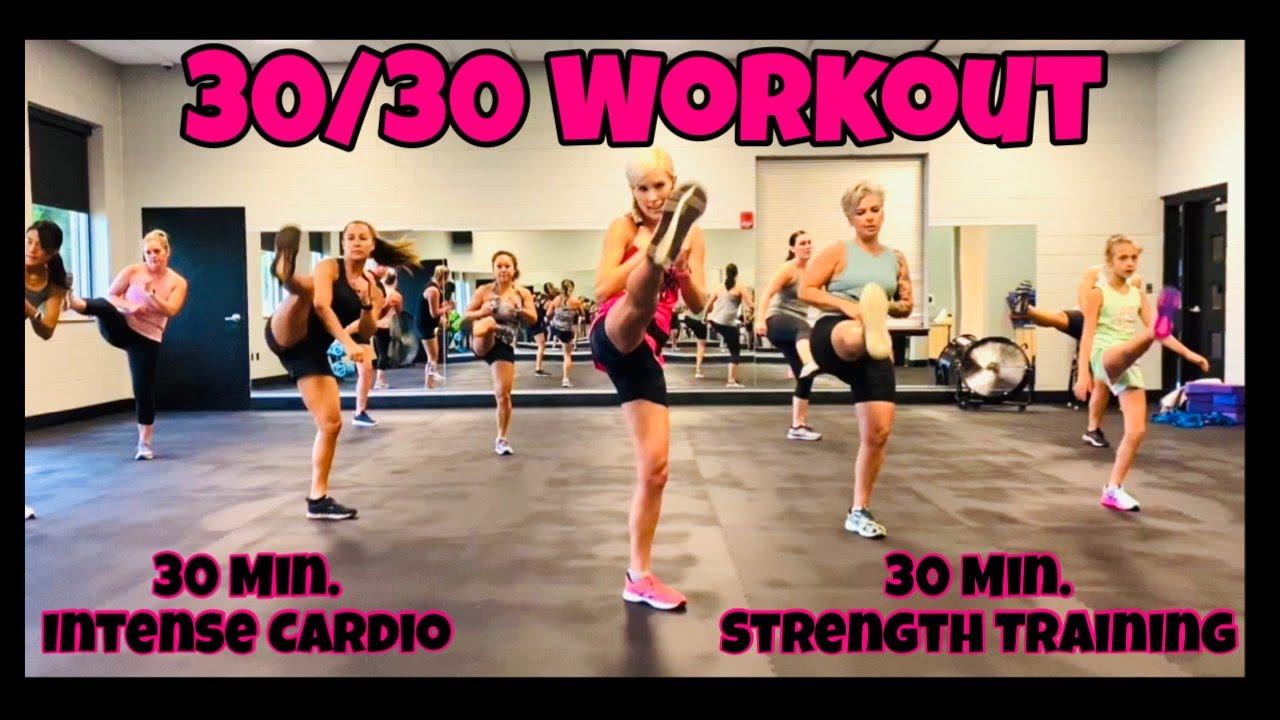 30/30 Workout | 30 Min. Intense Cardio & 30 Min. Strength Training