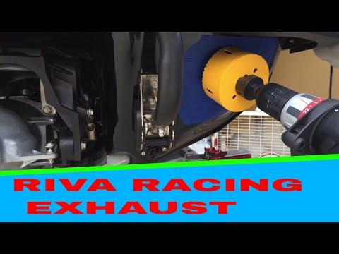 Yamaha 2016 VXR Riva Racing Exhaust DIY
