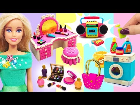 DIY Miniature Stuff for Barbie Dollhouse