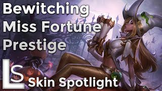 Bewitching Miss Fortune Prestige - Skin Spotlight - Trick-or-Treat Collection - League of Legends
