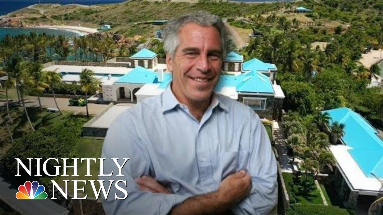 New Allegations That Jeffrey Epstein Abused Girls On Private Caribbean Island | NBC Nightly News
