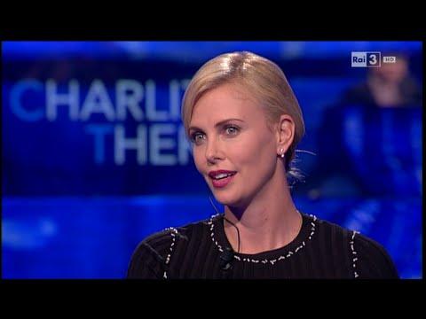 Charlize Theron - Che tempo che fa del 03/04/2016