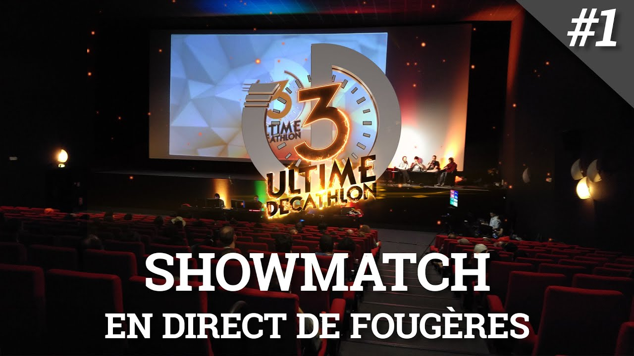 Ultime Décathlon 3 - Ultime ShowMatch 1/2