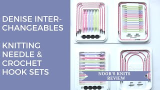 Review of the Denise Interchangeable Knitting Needles and Denise Interchangeable Crochet Hooks Set