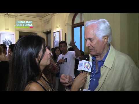 Entrevista exclusiva a Federico Luppi. #IgualdadCultural presente en la Fiesta Patria Popular (1)