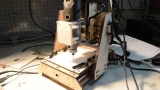 DIY 3D-фрезерный станок(Область обработки 100 х 100 х 50 мм Управление RepetierHost файлы 3d моделей - stl. Те же самые, что и для 3D принтера., 2015-07-04T08:13:37.000Z)