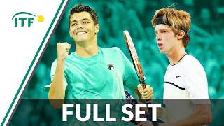 Andrei Rublev v Taylor Fritz | ITF Junior Masters Final 2015 | Full Set