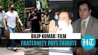 Dilip Kumar funeral: Shah Rukh, Ranbir, Dharmendra & others pay last respects