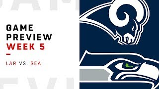 Los Angeles Rams vs. Seattle Seahawks | Week 5 Game Preview | NFL Playbook