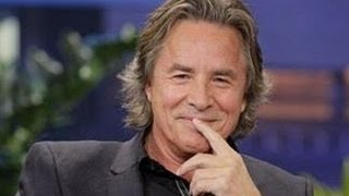 DON JOHNSON at Jay Leno - Dec. 5, 2012 (FULL)