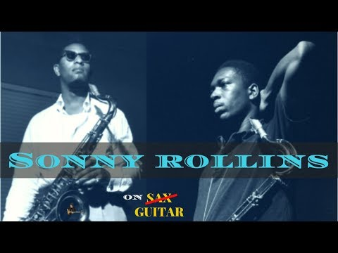 Warming up with... SONNY ROLLINS // Tenor Madness - Jazz Guitar Exercise (+ Tab)