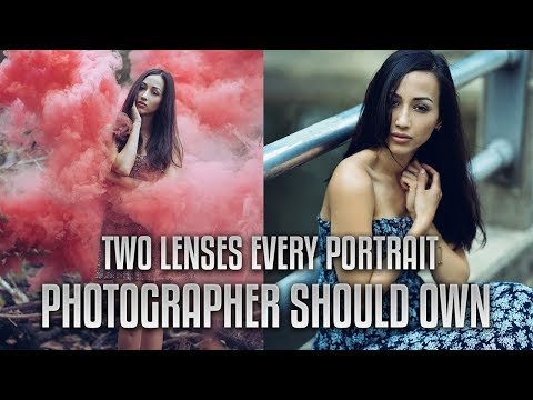 Two LENSES every PORTRAIT photographer should own!