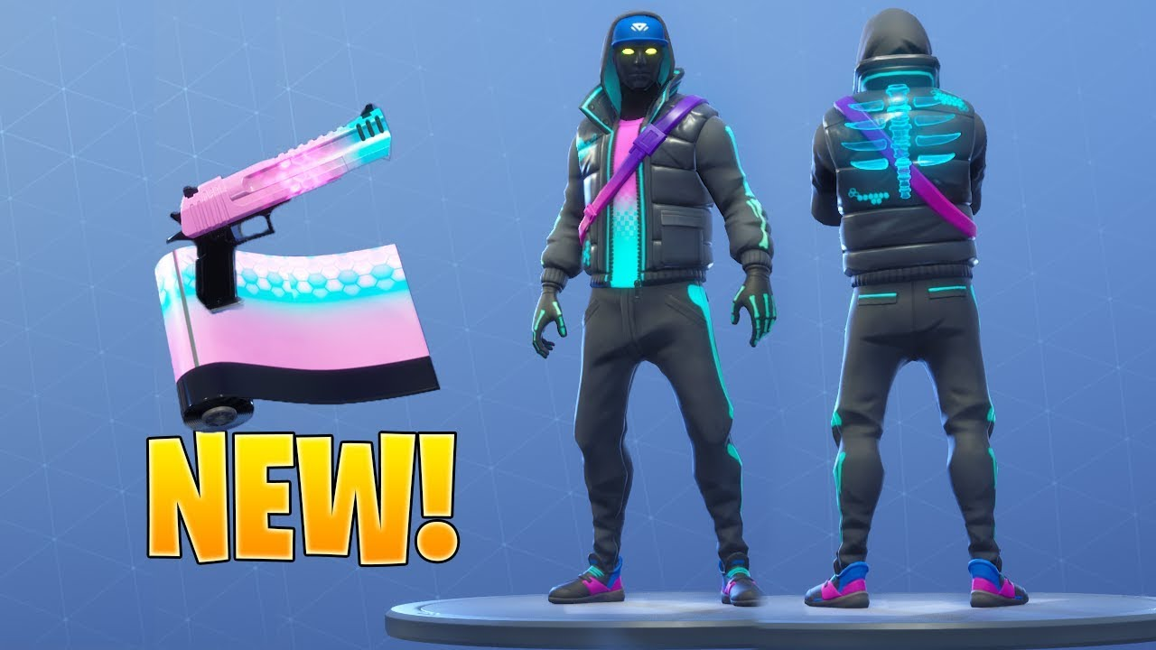 *NEW* CRYPTIC SKIN & ENIGMA WRAP (Animated) Fortnite Item Shop May 10, 2019