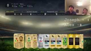 FORFEIT PACKS! - Fifa 15 Ultimate Team Thumbnail