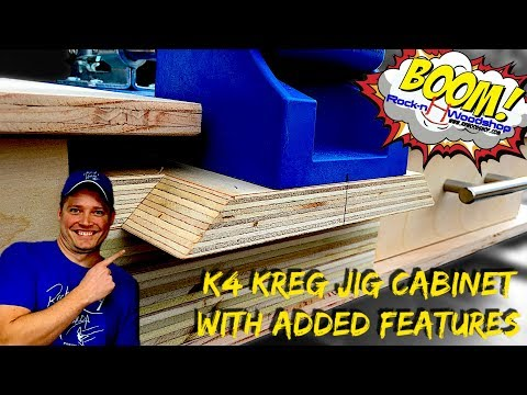 Kreg Jig Cabinet for K4 // How to // Collab