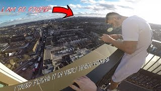 I LOST MY DRONE!! This was stupid..