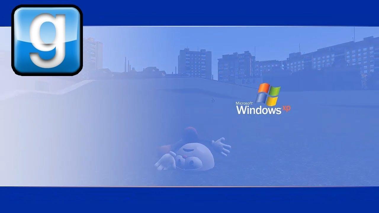Gmod Windows XP Death Screen Mod
