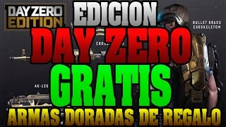 Como conseguir COD Advanced Warfare  edición DAY ZERO GRATIS!! | Armas Doradas de regalo