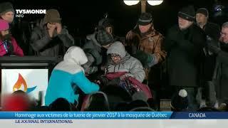 Tuerie à la mosquée de Québec: recueillement dans l'émotion un an après