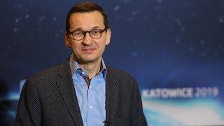 Mateusz Morawiecki podczas Intel Extreme Masters