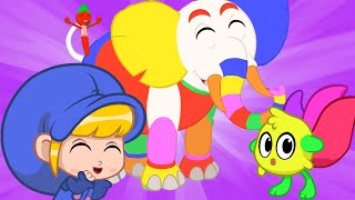 My Magic Paintbrush + More Cartoons for Kids   Morphle Cartoons   Sandaroo Kids
