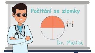 Zlomky - jednoduché vysvětlení | Doučování Dr. Matika