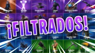 SKIN'S, PICOS, DELTAS WINGS AND FILTERED DEMAS! FORTNITE V7.20
