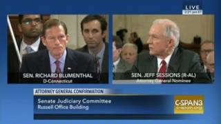 Sen. Jeff Sessions on Emoluments Clause; Senate Judiciary Committee; 01-10-17