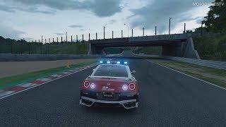 Gran Turismo Sport - Nissan GT-R Safety Car Gameplay