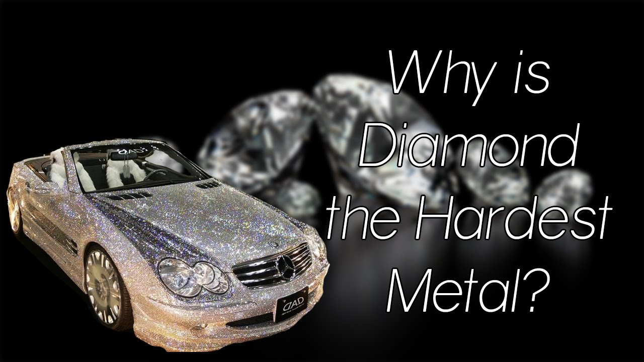 why is diamond the hardest metal