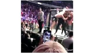 Khabib Taps Out Conor McGregor Attack's Crowd And Conor's Coach! UFC 229