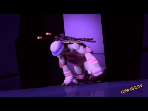 Черепашки Ниндзя 2012 смешной момент