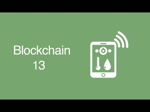 Blockchain & Internet of Things
